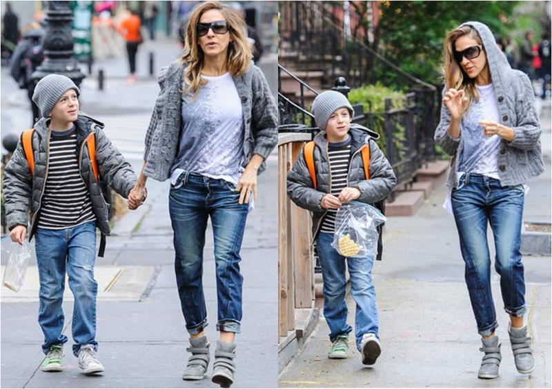 SJP in Level 99 Twisted Seam Tomboys in Crater wash