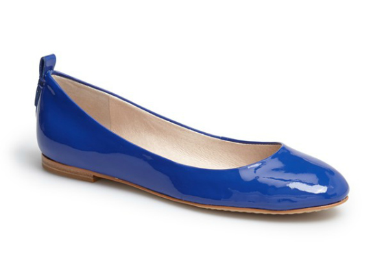 Vince Camuto 'Benningly' Patent Leather Ballet Flat