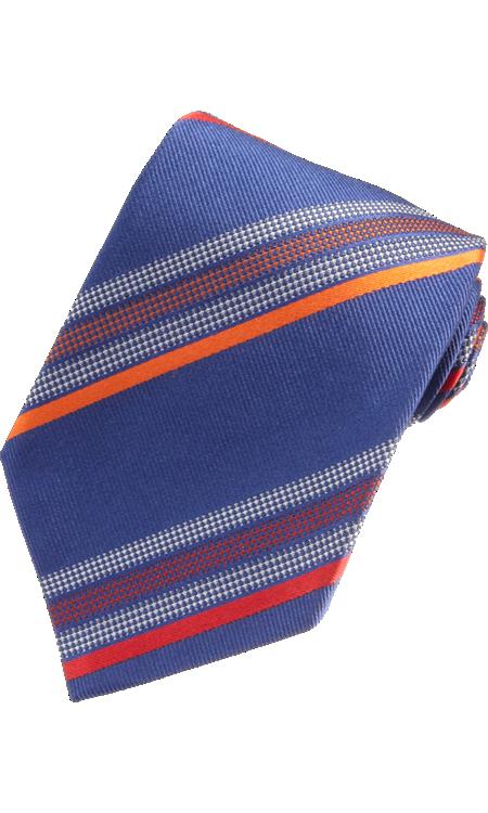 ETRO Textured Stripes Tie $165 NOW $79 52% OFF