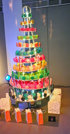 Pierre Hermé- I would eat the whole tree and go into a diabetic Christmas coma