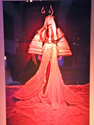 Stephane Rolland- Mary channeling Lady Gaga