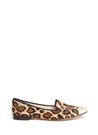 Aster leopard-print slip-ons by SAM EDELMAN