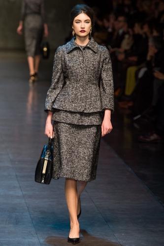 Tweeds at Dolce & Gabbana