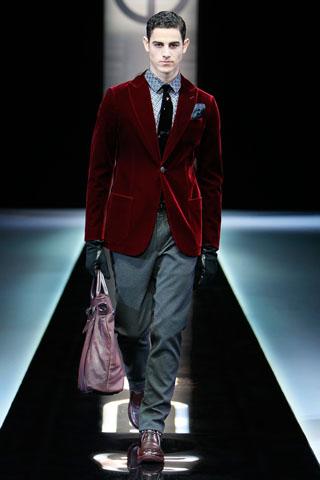 Giorgio Armani Menswear Fall 2013