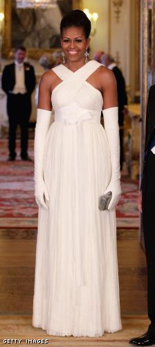 The First Lady in Tom Ford