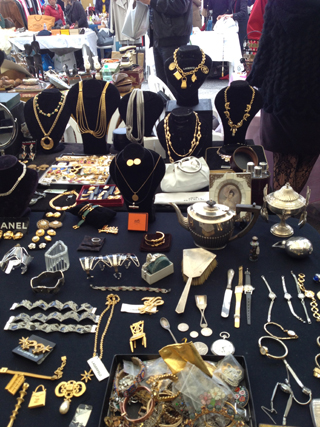Lot's of vintage costume jewelry and even some hard to find pieces from the 1960s.