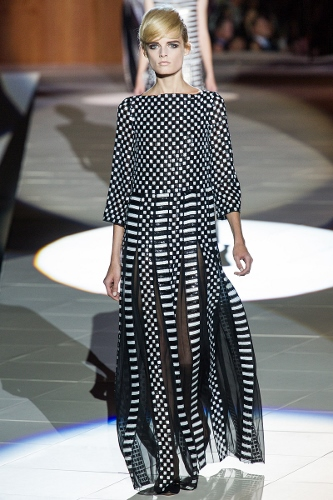 Transition to Spring-with  a new way to look at stripes,  this inspiration from Marc Jacobs S/S 2013