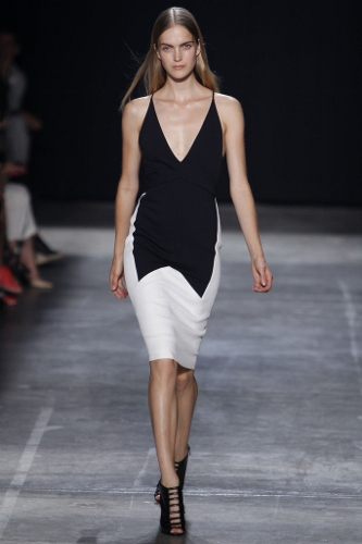 Narciso Rodriguez color-blocked for Spring 2013
