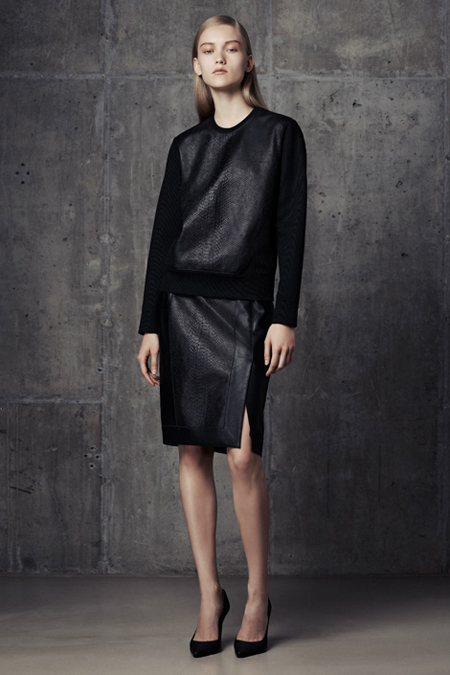 The updated sweatshirt at Helmut Lang 2014