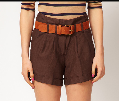 A Wear Belted Shorts at Asos