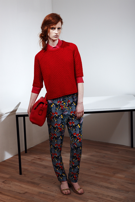 Volume + Red at marc by Marc Jacobs Resort 2014
