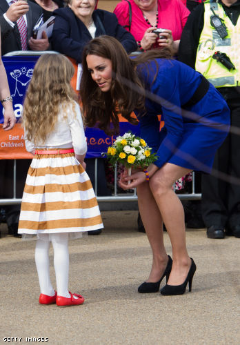 Catherine, Duchess of Cambridge, has made wearing pantyhose mainstream, and even chic!