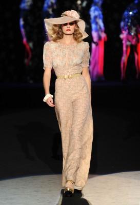 Anna Sui Spring 2012 fashion show