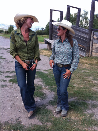 The Real Cowgirls of Jackson Hole, WY: Jolene and Jamie