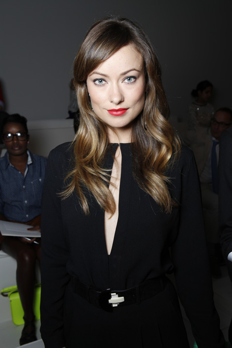 Ralph Lauren Spring 2012 Collection Show - Olivia Wilde
