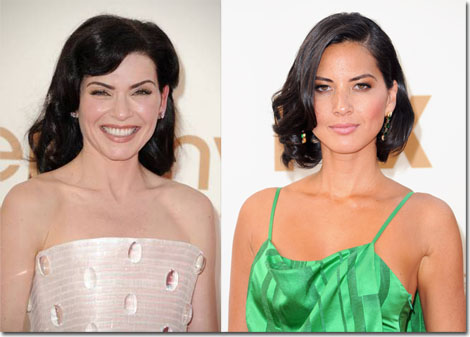 Julianna Margulies and Oliva Munn opt for soft waves