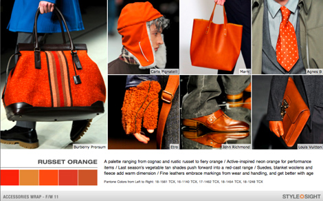 Men's Style Fall Color Report: Russet Orange