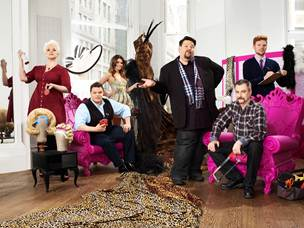 "The cast of ""Mad Fashion"""