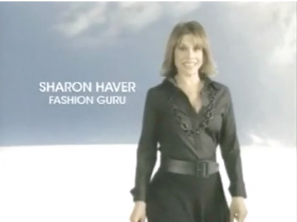 I starred in my own national Macy's TV commercial as the Fashion Guru.