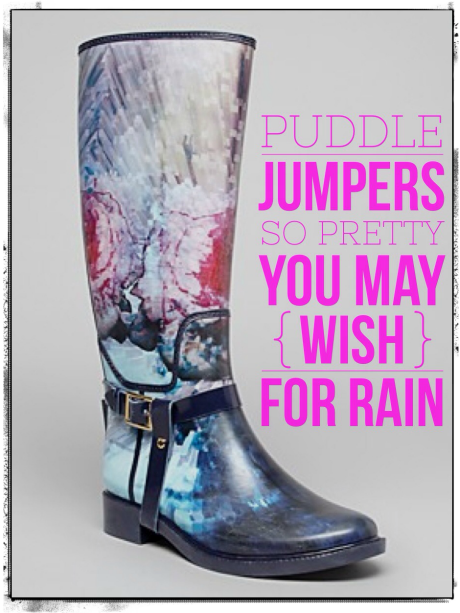 Stylist Advice How To Wear Patterned Stylish Rain Boots Like A Magnificent Patterned Rain Boots