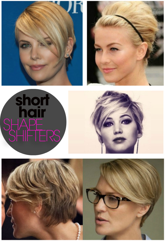 Different Ways To Style Short Hair Who Says There Aren't Different Ways To Style Short Hair
