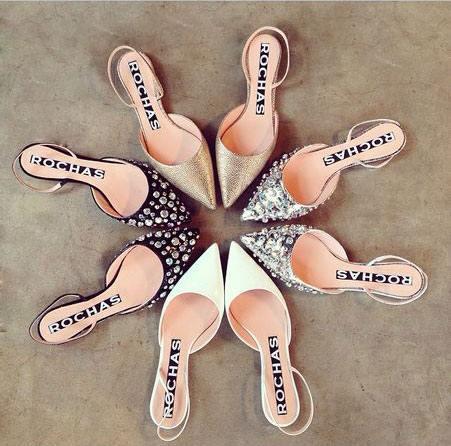 Rochas Flat Sandals