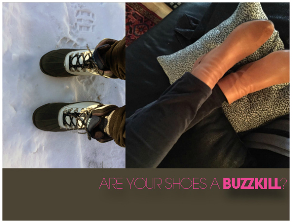 ARE your shoes a buzzkill