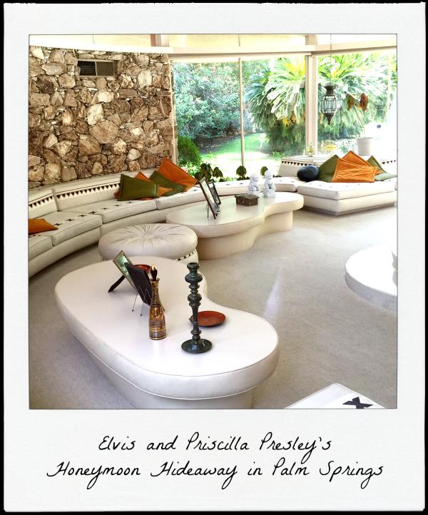 Elvis and Priscilla Presley's Honeymoon Hideaway in Palm Springs