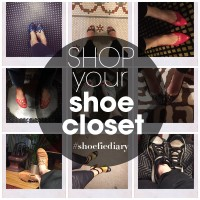 Join me for the Shoefie Diary Instagram Challenge: Shop your shoe closet!