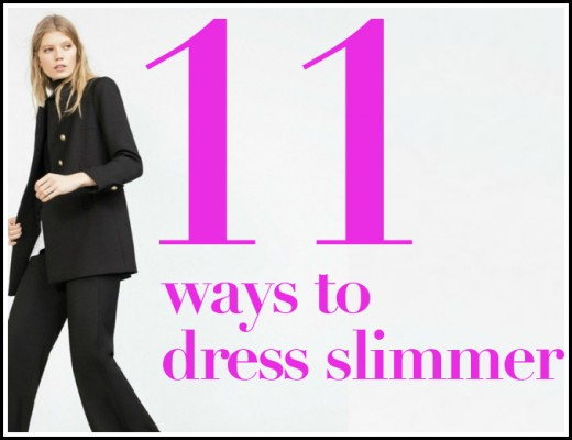 Dress To Look Slimmer