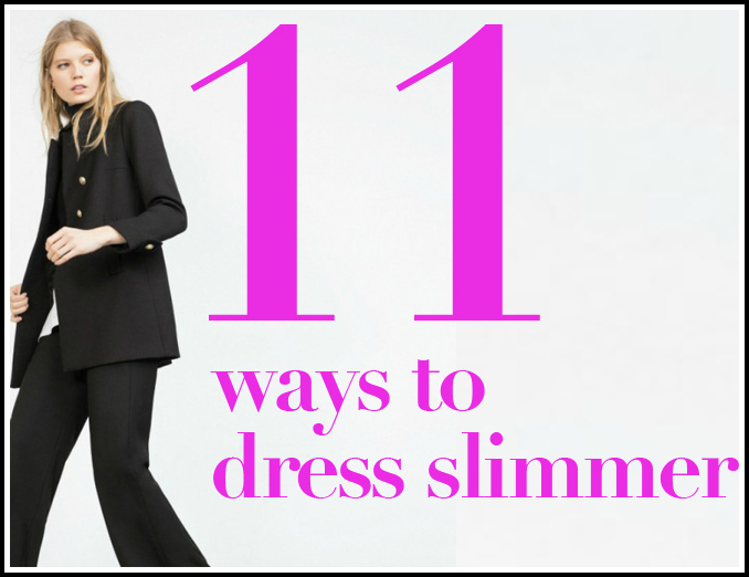Dress To Look Slimmer