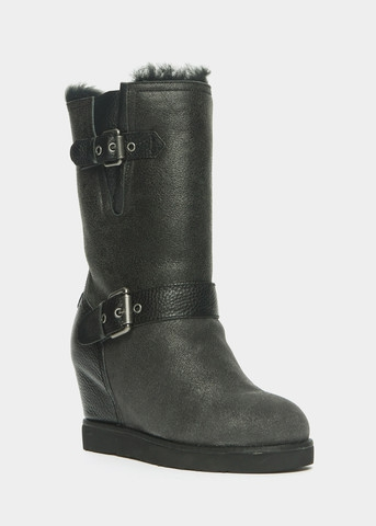 Australia Luxe Collective- MACHINA DISTRESSED LEATHER HIDDEN WEDGE