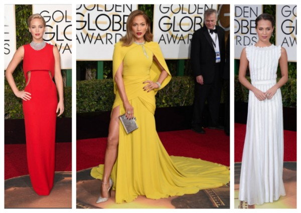 Golden Globes fashion - 2016