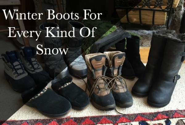 Snow Boot Guide- The top 6 winter boots for every kind of snow