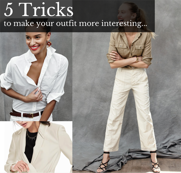 5 tricks to make outfit interesting