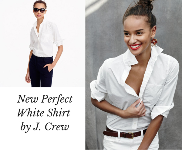 perfect white shirt jcrew