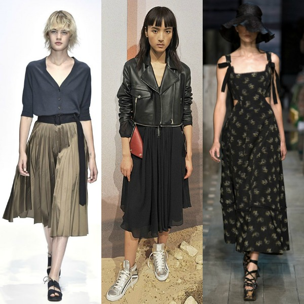 London- fashion-week- Spring-2017-Skirt-Trend