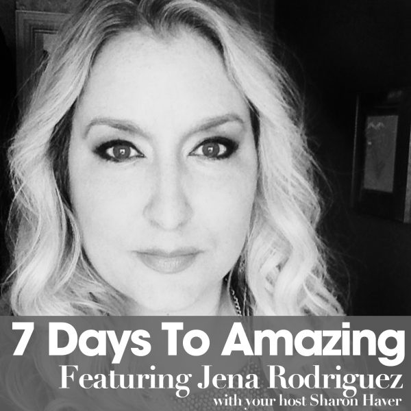 Podcast Thumbnail Jena rodriguez bw no logo