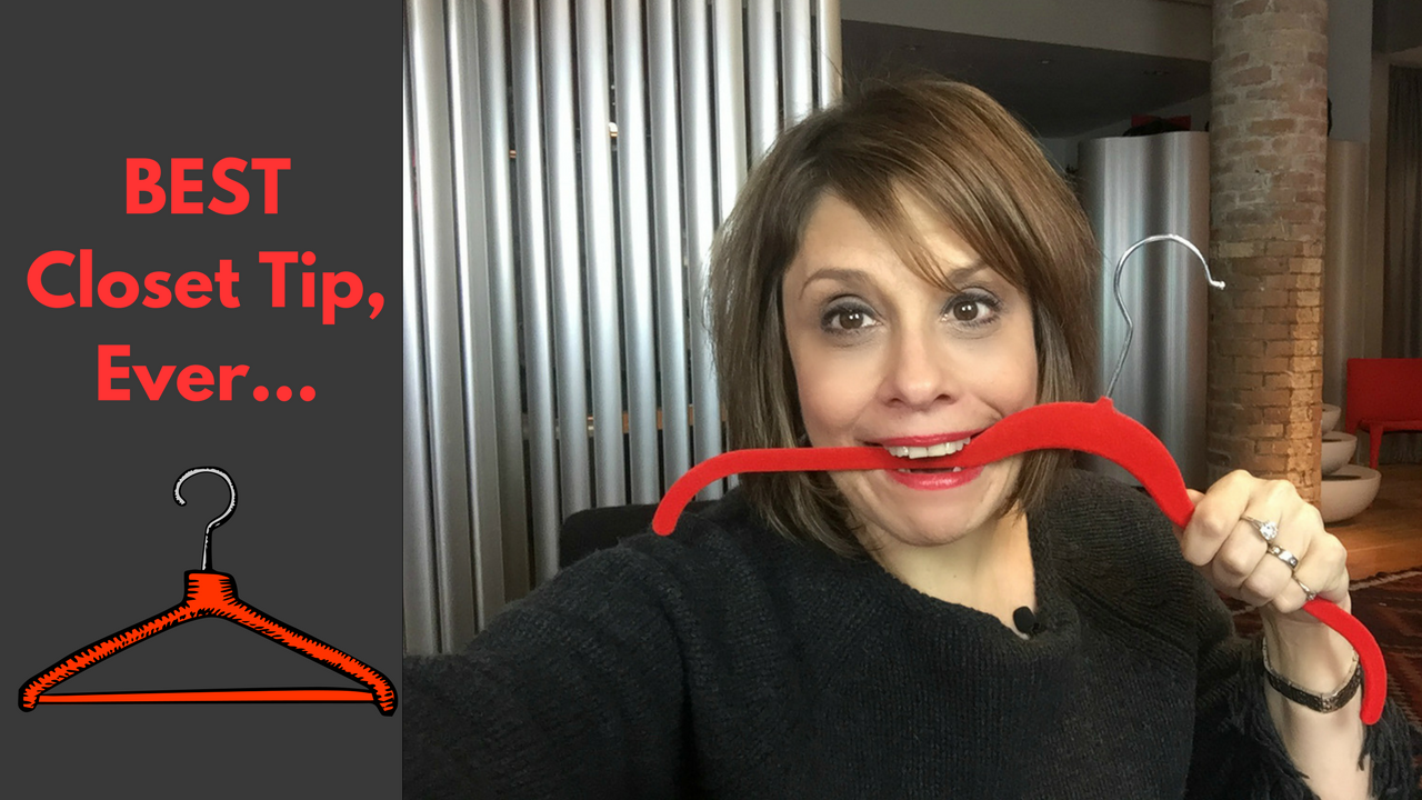 How to organize your closet with the best Huggable Hangers! [Quick Tips  Video]