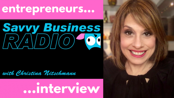 Savvy Business Radio interview