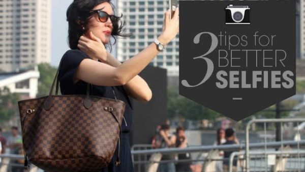 3 tips for better selfies