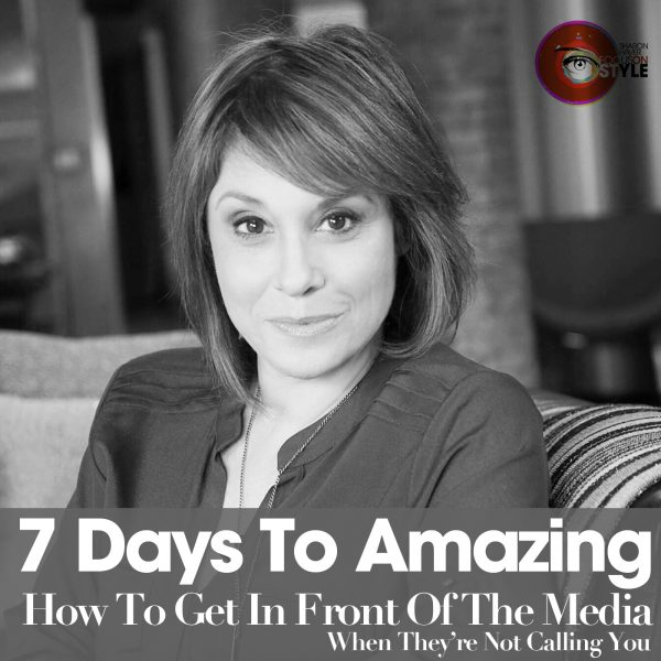 Podcast Thumbnail Sharon Haver and How to Get Noticed in the Media
