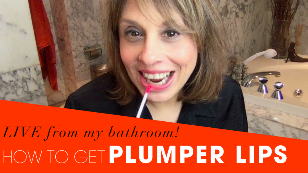 Lip Plumper Review - How to get fuller lips- LIVE from my bathroom!
