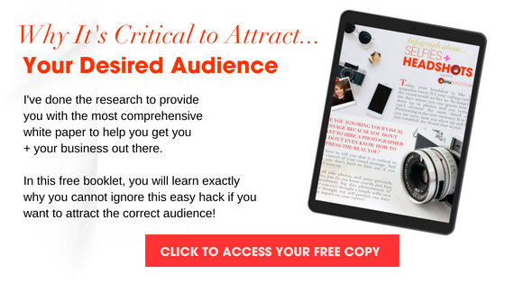 Why it's critical to attract your desired audience- click to download now
