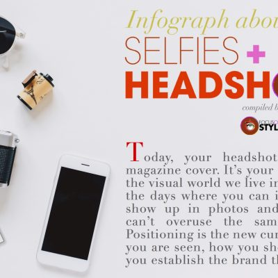 Infograph- Selfies and Headshots- Statistics
