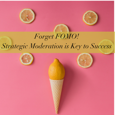 Forget FOMO! How to get more done by doing less