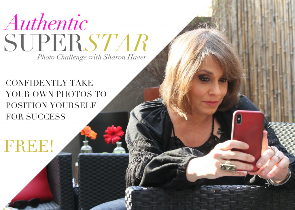 Authentic Superstar-Free Photo Challenge MIni Course to increase your visibility online.