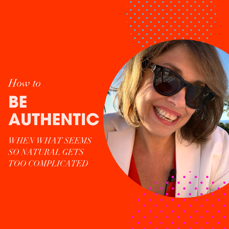 How to be authentic when what seems so natural gets too complicated