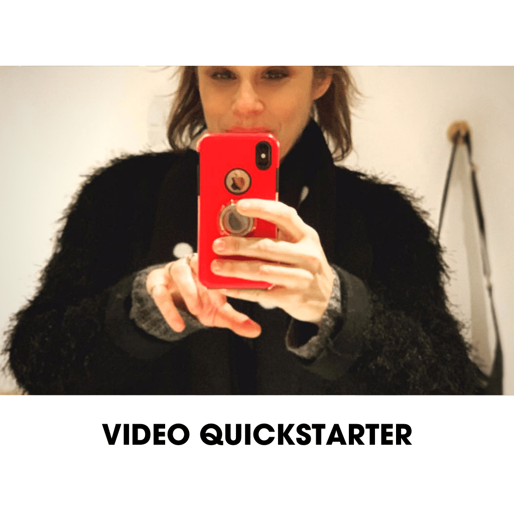 VIDEO QUICKSTARTER- Create your own authentic videos without having to hire a production team.