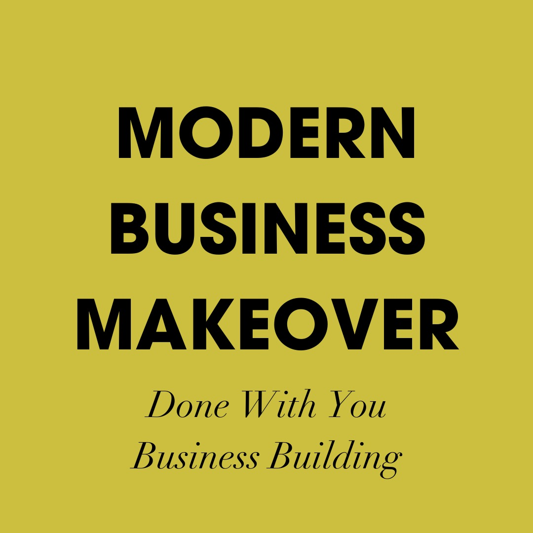 Modern Business Makeover-strategic planning to update your business into a profit machine for today's crowded market.